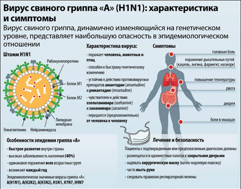 Через сколько дней проявляется грипп после заражения