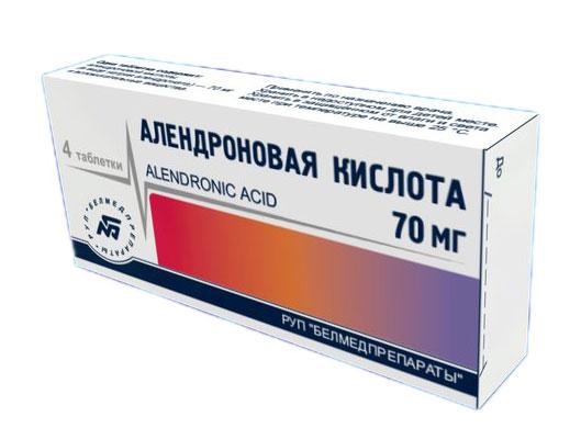 Препарат Алендроновая кислота