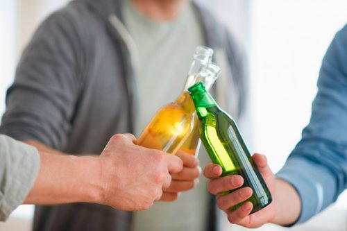 Употребление алкоголя при подагре