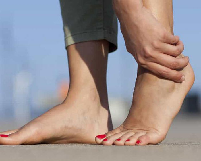 Возникновение болей в стопе при ходьбе