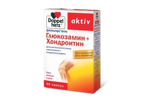 БАД Доппельгерц глюкозамин хондроитин