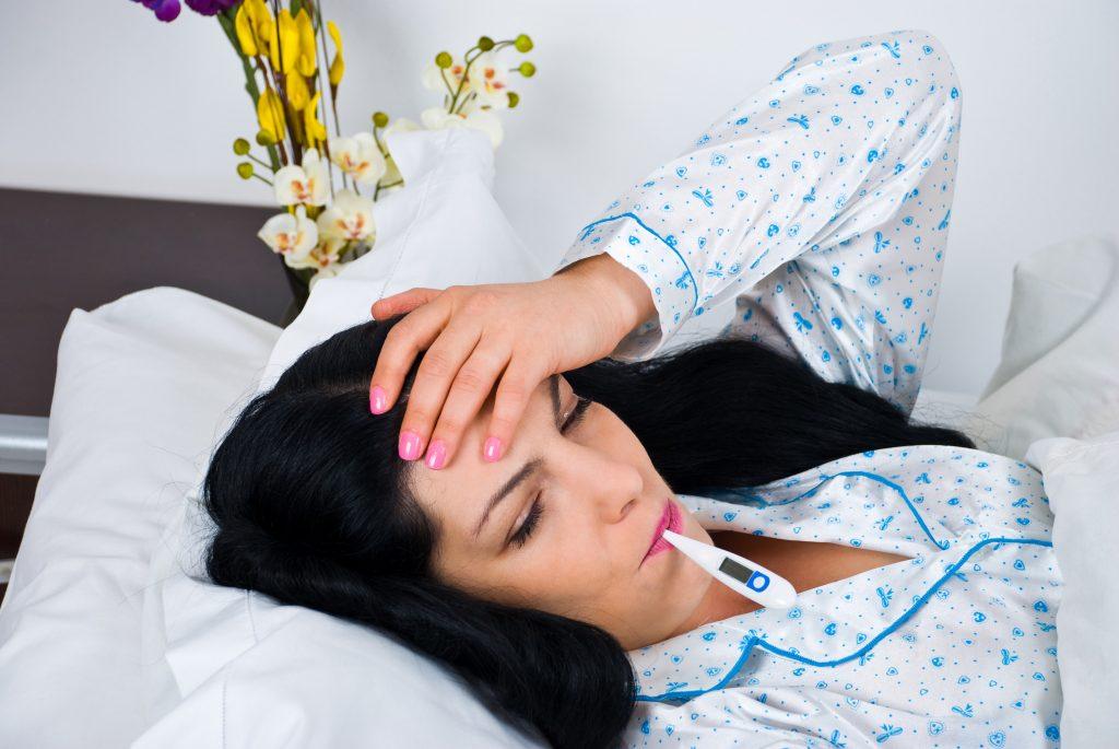 Как лечить грипп с высокой температурой
