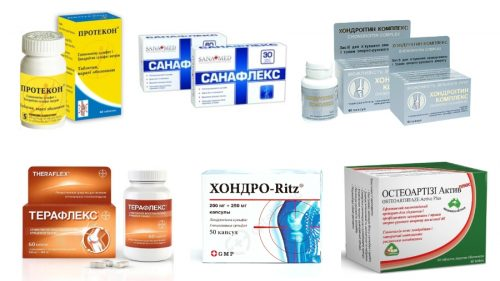 Препараты с Глюкозамином и Хондроитином