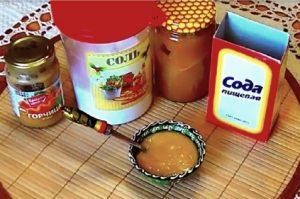 Горчичная смесь домашнего приготовления для суставов