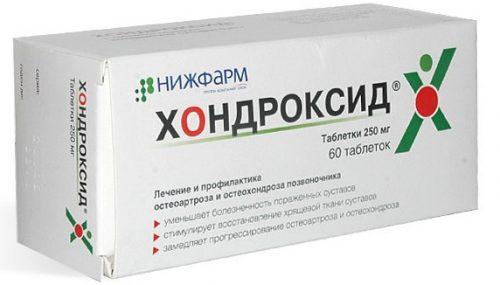 Таблетки Хондроксид для суставов