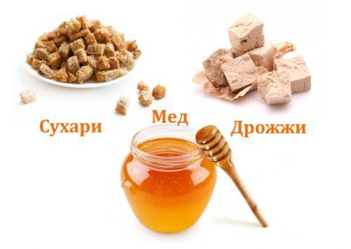 Ингредиенты для приготовления кваса