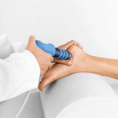 Ударно-волновая терапия пятки