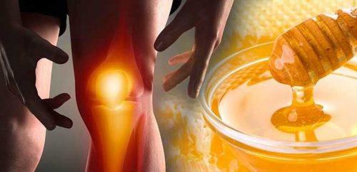 Народное лечение суставов медом