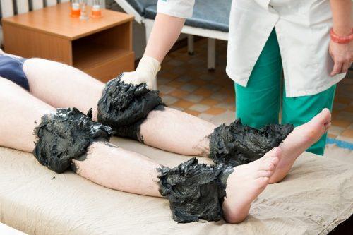 Лечение суставов грязью