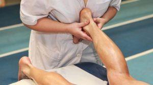 Массаж при растяжении связок голеностопа