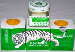Мазь–бальзам Белый тигр