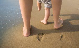 Нагрузка на ноги при обучении ходьбе