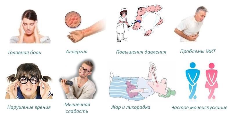 Побочные эффекты Остеовера
