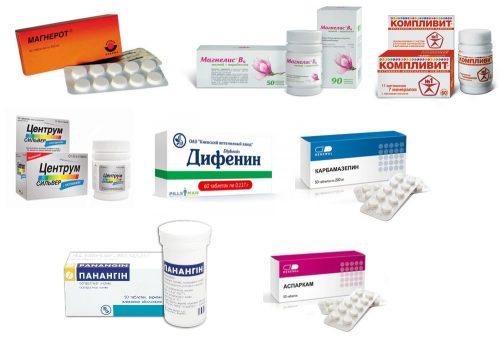 Препараты при судорогах