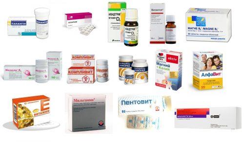 Препараты для лечения судорог