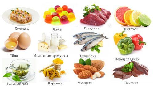 Продукты, полезные для суставов и связок