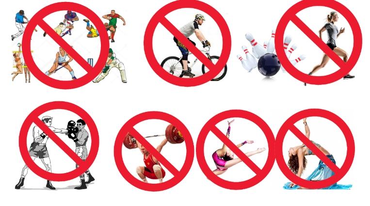 Противопоказанные виды спорта при сколиозе