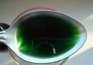 Консистенция раствора хлорофиллипта