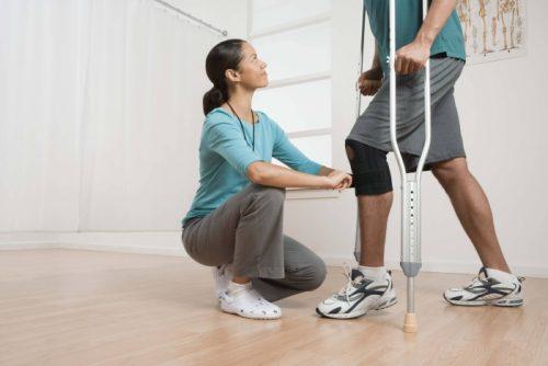 Реабилитация после эндопротезирования колена