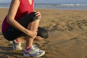 Резкая боль в колене при обострении менископатии