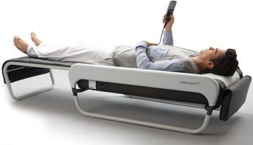 Ортопедическая массажная кровать Серагем