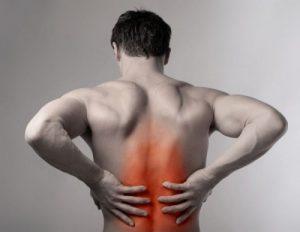 Сильная боль в области позвоночника