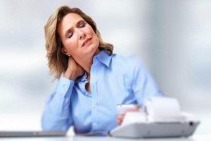 Остеохондроз шейных позвонков у женщин