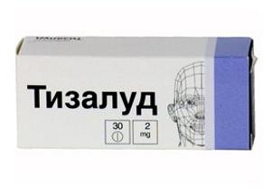 Препарат Тизалуд