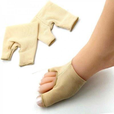 Тканевый фиксатор от косточки на ноге