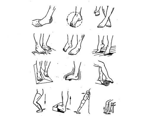 Упражнения для голеностопного сустава и стоп