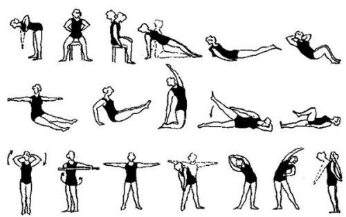 Упражнения при спондилоартрите