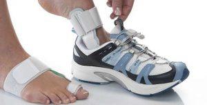 Возможность ношения шины Халюфикс с обувью