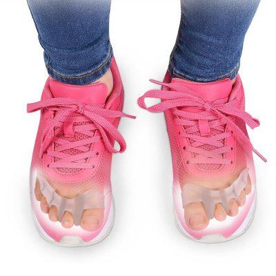 Возможность ношения силиконового фиксатора с обувью