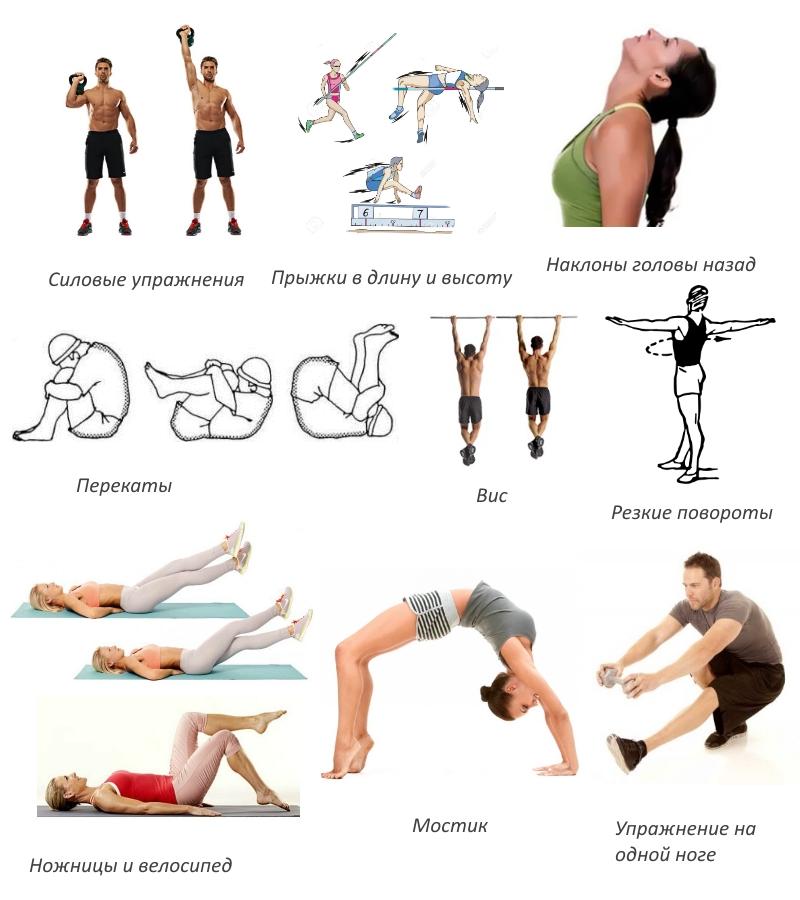Запрещенные упражнения при сколиозе