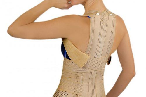 Подбор бандажа для спины
