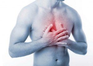 Боль в области груди при шейно-грудном радикулите