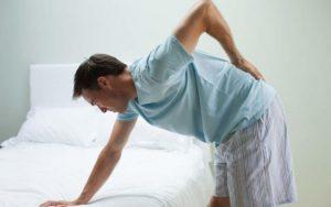 Появление боли в позвоночнике