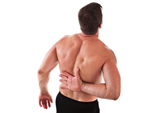 Боль в спине между лопатками