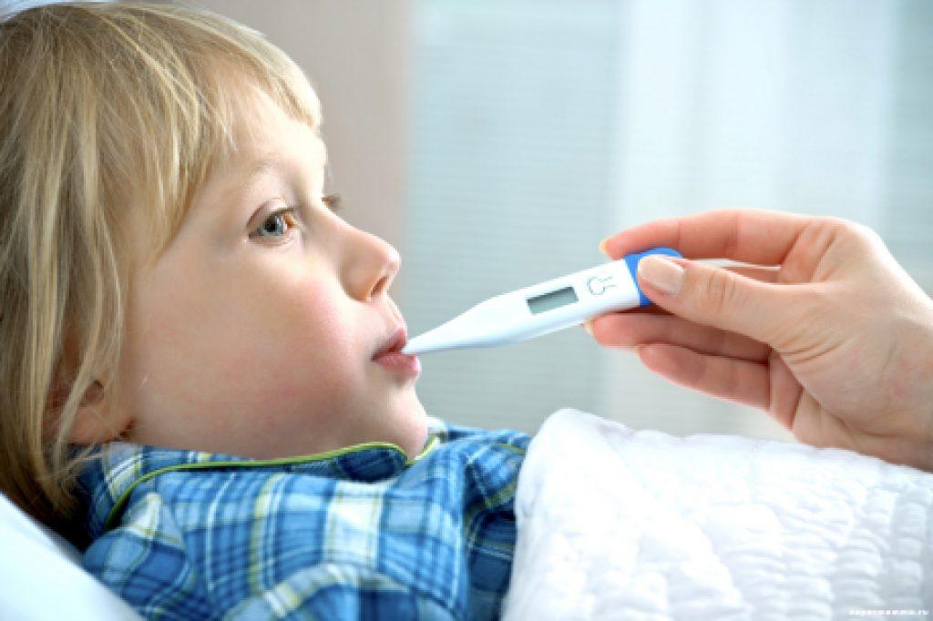 Пониженная температура при простуде