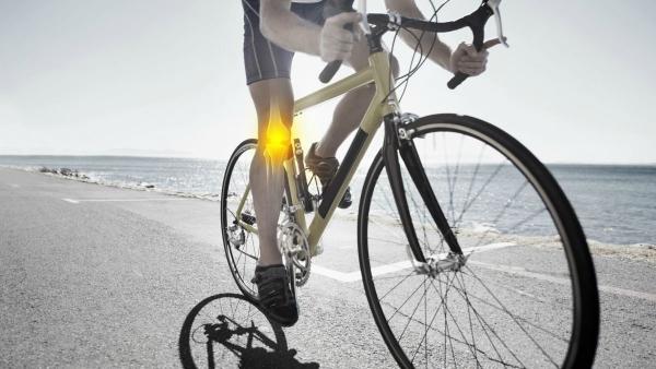 Боли в коленях после велопрогулок