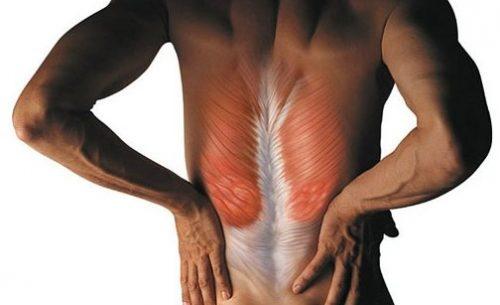 Ощущение боли в мышцах спины