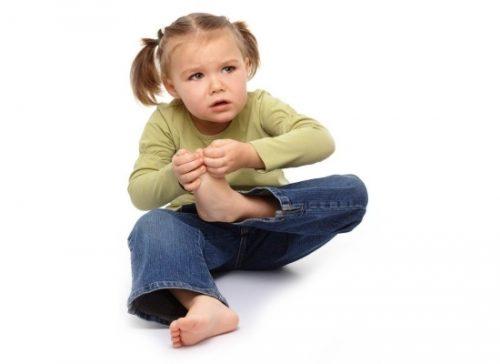 Возникновение боли в пятке у ребенка