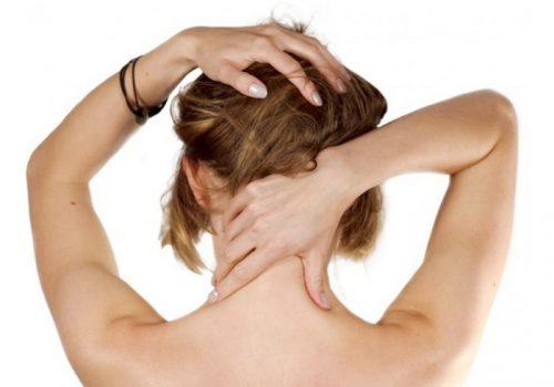 Боли в шее у основания черепа
