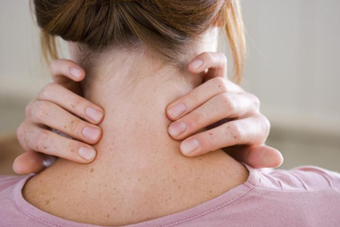 Ощущение боли в шее