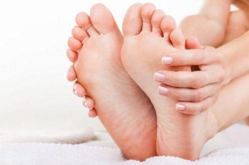 Возникновение боли в ступнях