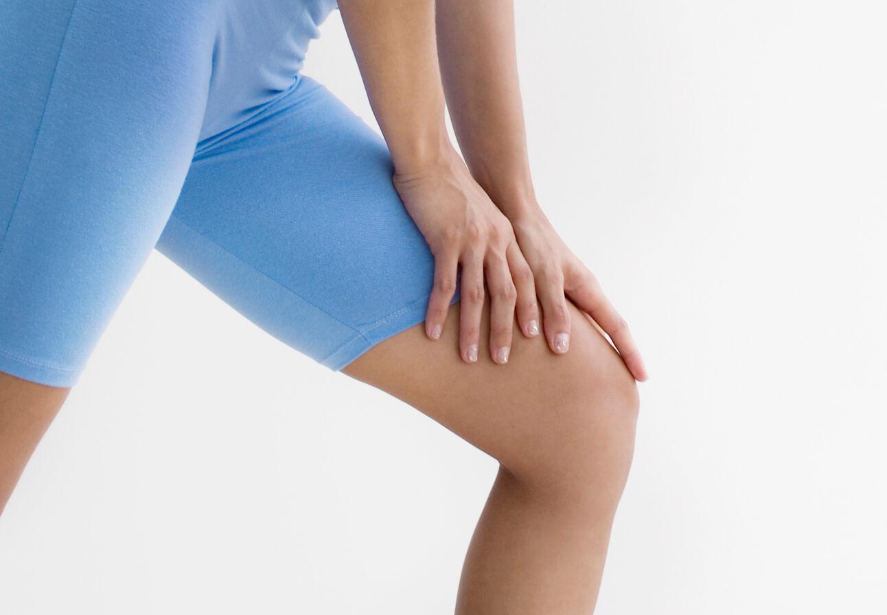 Боль в колене после спортивной тренировки