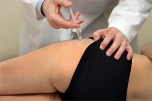 Инъекции при бурсите тазобедренного сустава
