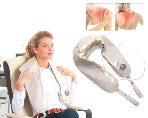 Электромассаж шеи и плеч
