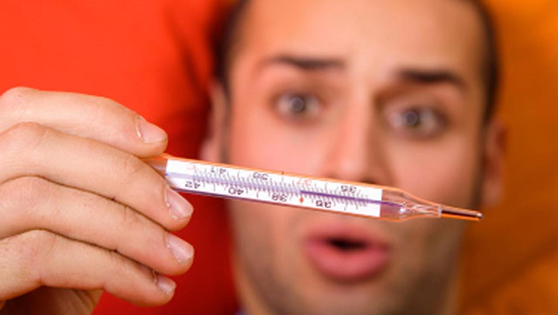 Сколько держится температура при ОРВИ