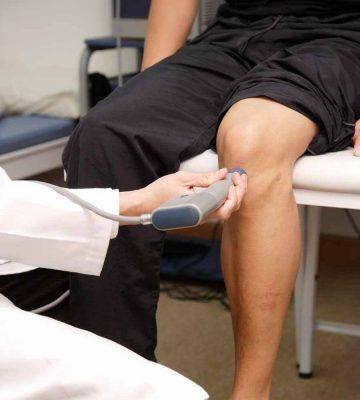 Физиолечение коленного сустава